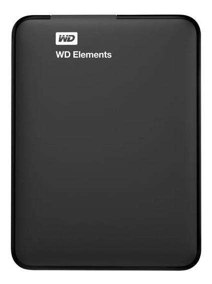 Disco Externo Portatil Western Digital Elements 2t