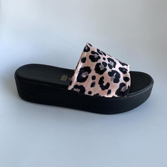 Zapatos - Sandalia Animal Print - Deboga Shoes