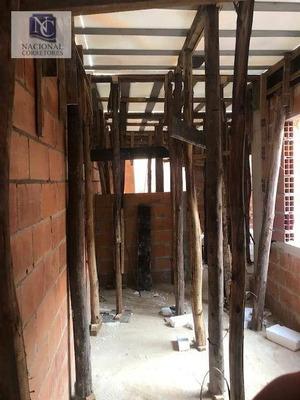 Cobertura Com 2 Dormitórios À Venda, 74 M² Por R$ 249.000 - Jardim Utinga - Santo André/sp - Co3878