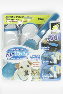 Cepillo Mágico Quita Pelo Mascotas Perros Gatos Pelusa Limpi