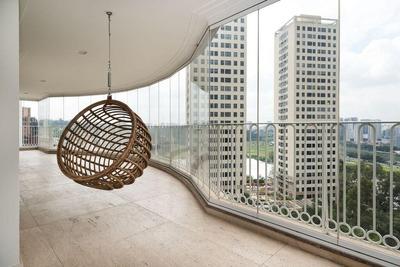 Apartamento Em Panamby, São Paulo/sp De 425m² 4 Quartos À Venda Por R$ 4.200.000,00 - Ap197678