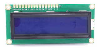 Display Lcd 1602 Hd44780 Backlight Azul 16x2 Arduino Pic