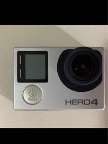 Gopro Hero 4 Black!! Usada Apenas 2 Vezes, Ótimo Estado