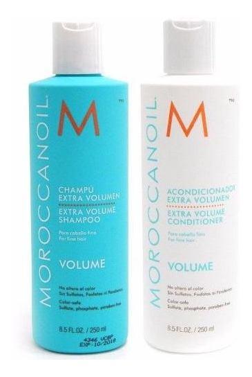 Moroccanoil Kit Shampoo X 250 + Acondicionador X 250 Volume