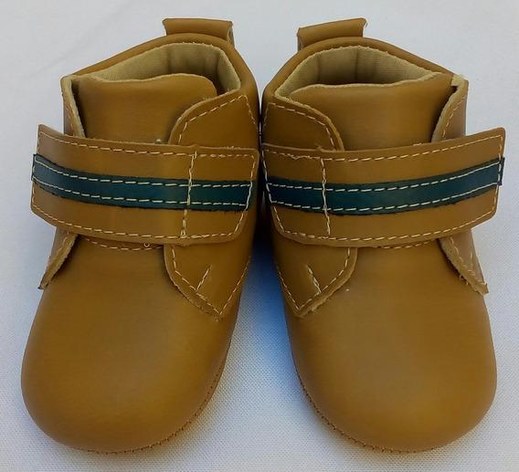 Tênis Velcro De Bebe Masculino - Com Solinha Antiderrapante