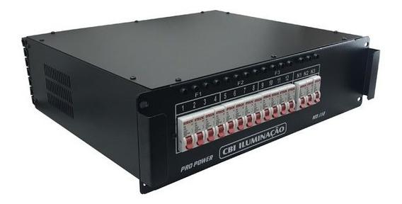 Pro Power Modulo Rack Disjuntor 12 Canais 3 Anos De Garantia