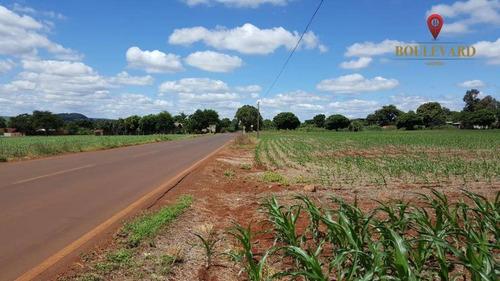 Área À Venda, 26031 M² Por R$ 1.960.000,00 - Centro - São Miguel Do Iguaçu/pr - Ar0002