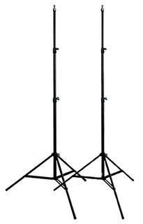 Kit 2 Tripies Lightstand Uso Rudo Heavy Duty Linco 2.10m