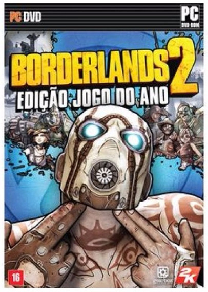 Game Usado Pc Borderlands 2 Edicao Jogo Do Ano