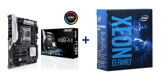Asus X99 A Ii + Xeon E5-2673 V3 12/24 Core + 64gb Ecc Hynix