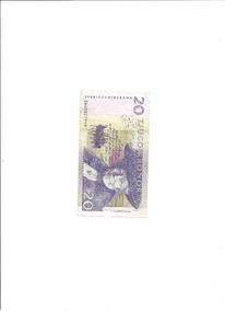 Cédula De 20 Kronor Da Suécia.