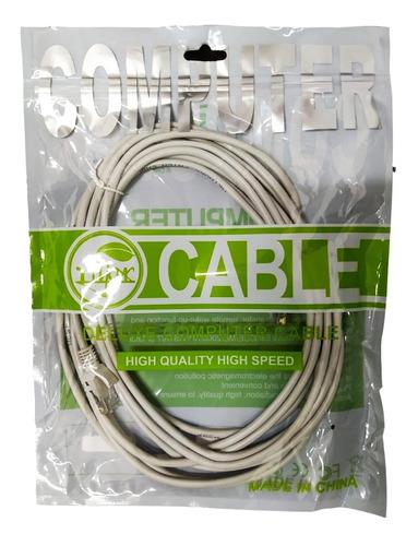 Cable De Red Utp Cat5   5m   Blanco   Tasa 0   Tienda Física