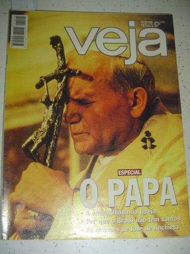 Revista Veja 1515 Papa João Paulo Ii Ent Felipe Camargo 1997