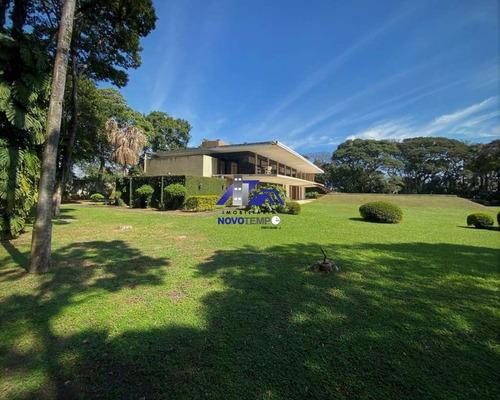 Imagem 1 de 30 de Casa Contemporânea A Venda Em Cotia Com 4 Dorms E 13 Vagas - Mansão Tangará - Ca00897 - 69516196