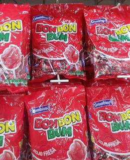 Chupetas Bon Bon Bum Paquetes De 24 Unidades