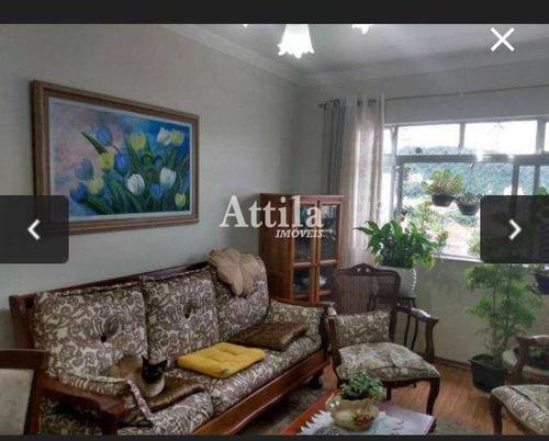 Imagem 1 de 23 de Apartamento Com 3 Dorms, Campo Grande, Santos - R$ 480 Mil, Cod: 2681 - V2681