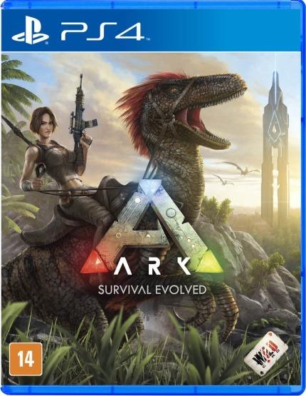 Jogo Mídia Física Ark Survival Evolved Original Para Ps4