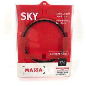 Filtro Polarizador Massa 77mm Cpl P/ Lente Canon Nikon Sony