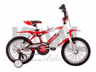 Bicicleta Raleigh Mxr Rodado 16 Aluminio