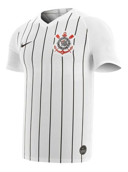 Camisa Corinthians Nova Lançamento 20/21 Masc. Branca Timão