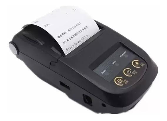 Mini Bluetooth Impressora Térmica Pos 58mm Mht-5800 - Nova