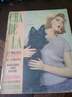 Revista ** Chabela Nº 332 , Setiembre De 1963