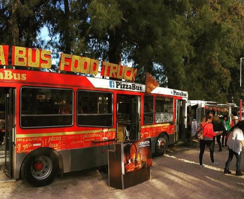 Mercedes-benz Colectivo Piso Bajo  Food Truck