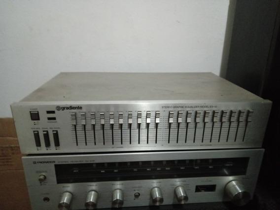 Equalizador Estéreo Gradiente Es-10 Usado