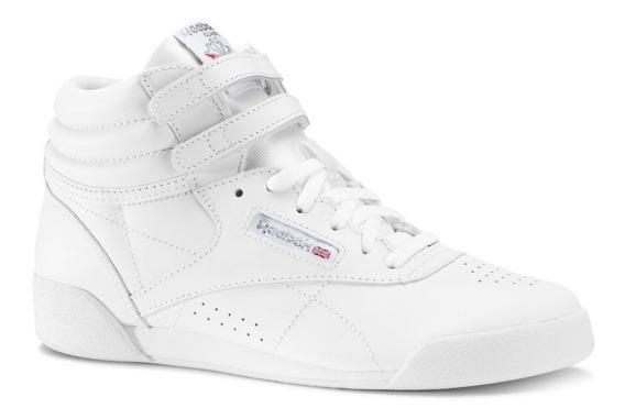 Zapatillas Botitas Reebok Freestyle Hi Niños Abc Deportes