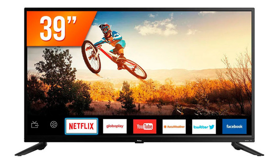 Smart Tv Led 39 Hd Philco Ptv39g60s 2 Hdmi 1 Usb Wifi