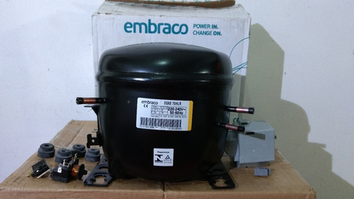 Motor De Refrigeradora Y Congeladora Embraco 1/5+ R134a 220v