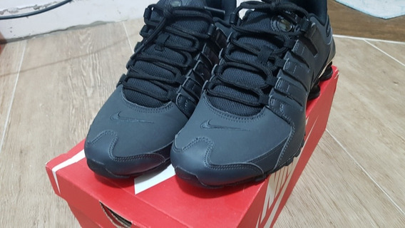 Nike Shox Nz Cinza Original Nike Store Tênis Casual Unisex