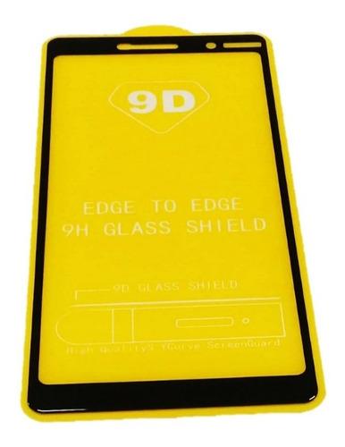 Imagen 1 de 5 de Protector Pantalla Vidrio Templado 9d Nokia 7 Plus