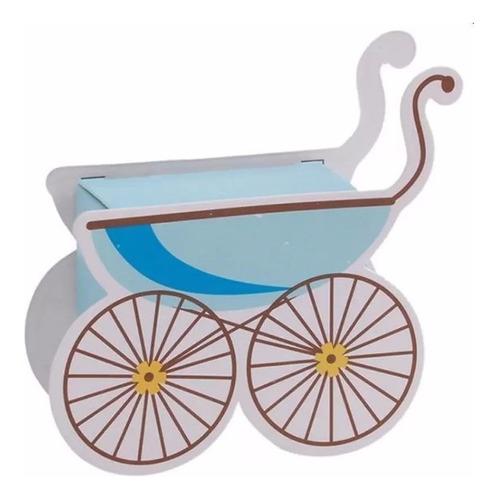10 Souvenirs Nacimientos Baby Shower Cochecito Moisés Bebés
