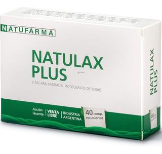 Natulax Plus Cáscara Sagrada Natufarma X 40 Comp.