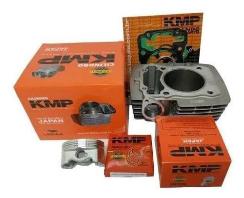 Kit Completo Pistão Anel Cilindro Junta Kmp Cg 150