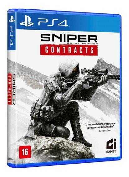 Jogo Mídia Física Sniper Ghost Warrior Contracts Para Ps4