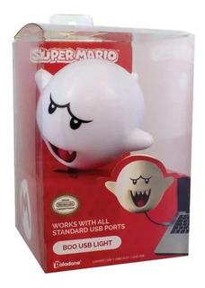 Lámpara Usb Boo V2 Mario Bros