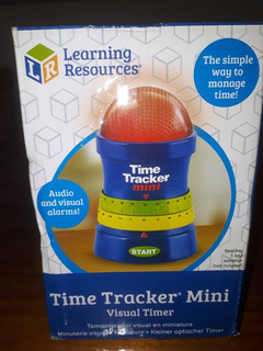 Learning Resources Timer Tracker Mini (temporizador Estim.)