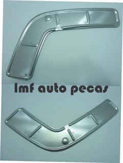 Par Chapa Protetora Alumínio Parachoque Mb 1113 1518 2013