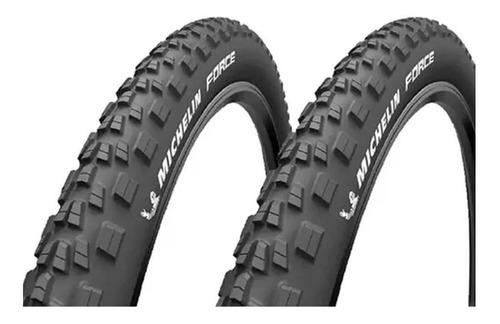 Imagem 1 de 5 de 2x Pneus Aro 29 Michelin Force Access Line 2.25 Talão Rígido