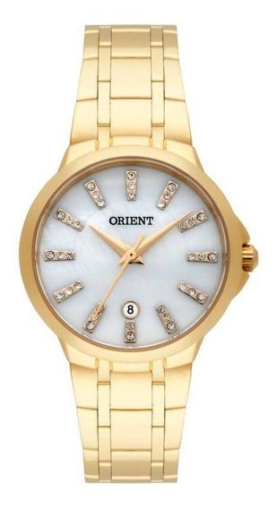 Relógio Orient Feminino Analógico Dourado Fgss1126 B1kx