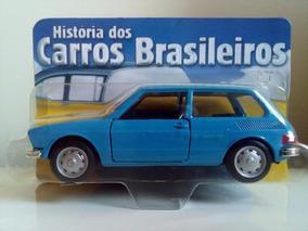 Miniatura Volkswagen Brasília Carrinho Coleção Brasileiros