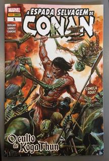 Hq A Espada Selvagem De Conan Edição 1