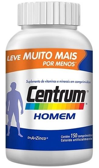 Centrum Homem C/150 Cpr - Produto Com Validade 31/01/2021