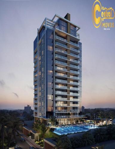 Apartamento  Com 3 Dormitório(s) Localizado(a) No Bairro Itacolomi Em Balneário Piçarras / Balneário Piçarras  - 564