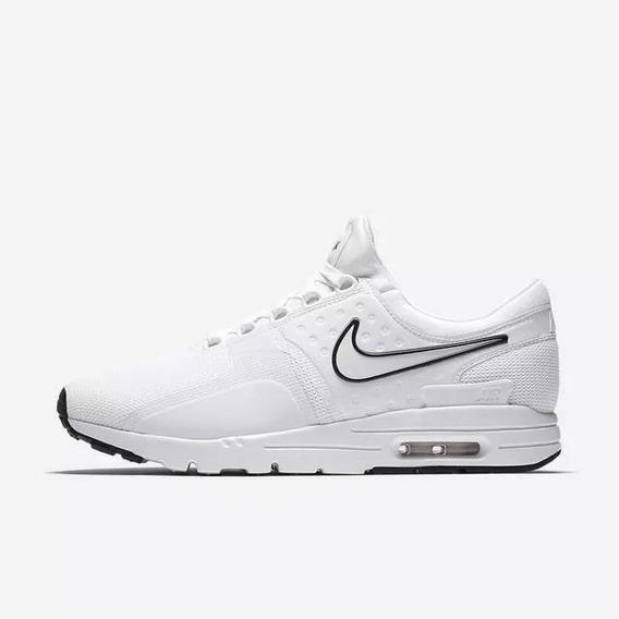 Nike Air Max Zero Blancas Ropa y Accesorios en Mercado