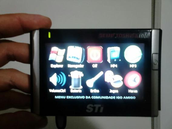 Navegador De Gps Semp Toshiba Gp-4010 Com Defeito No Gps