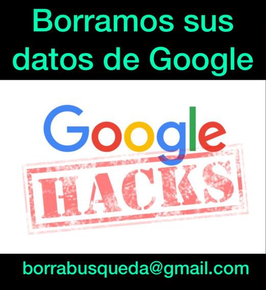 Eliminar Borrar Historial Resultados Buscador Google Hacker