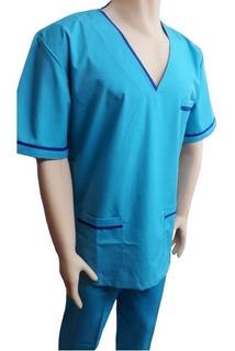 Ambo Medico Cuello Escote V Tela Arciel Color Mujer